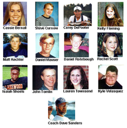 the columbine massacre essay A guide through the maze of columbine evidence, myths and misinformation eric harris and dylan klebold's journals, sketches, guns, bombs, crime scene photos.